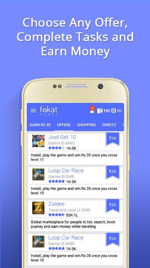 fokat Mobile Application