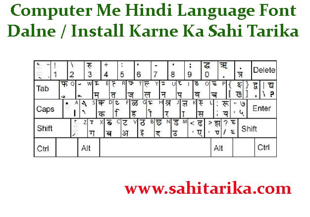 Hindi Typing Letter Ideas | Computer Me Hindi Language Font Dalne Install Karne Ka Sahi Tarika,ব ...