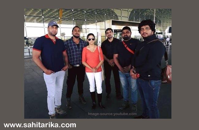 sapna chaudhary securityguard