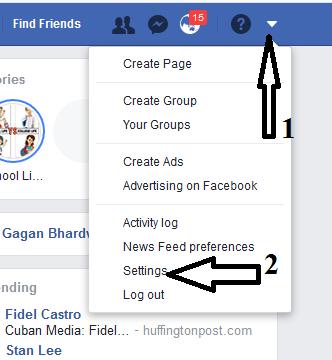 Facebook account ko permanant delete Or Deactivate kaise kare-